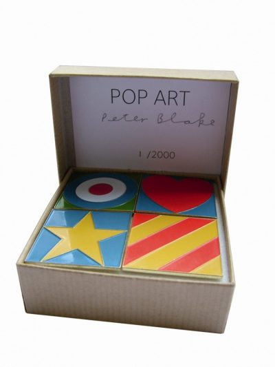 Peter Blake Pop Art Badges