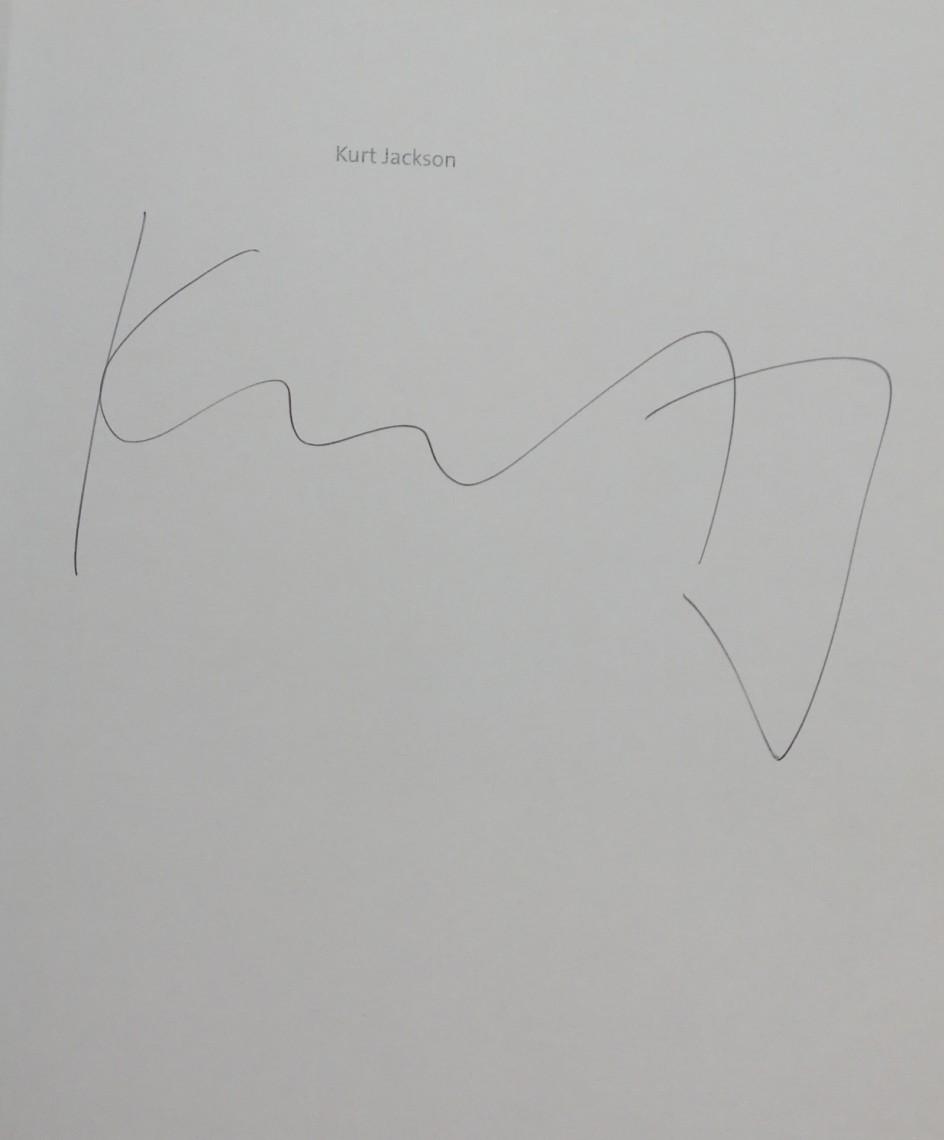 Kurt Jackson Hardback Signature