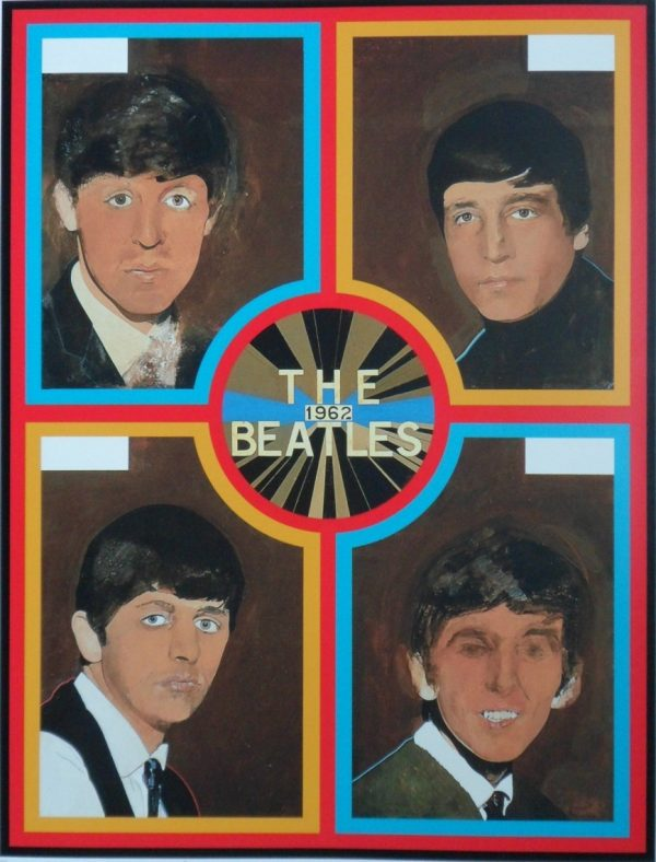 The Beatles, 1962 by Sir Peter Blake