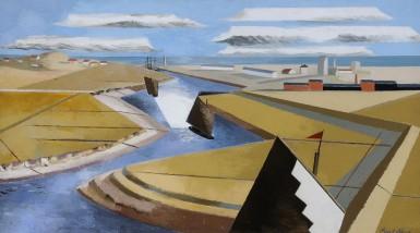 Paul Nash Rye Marshes