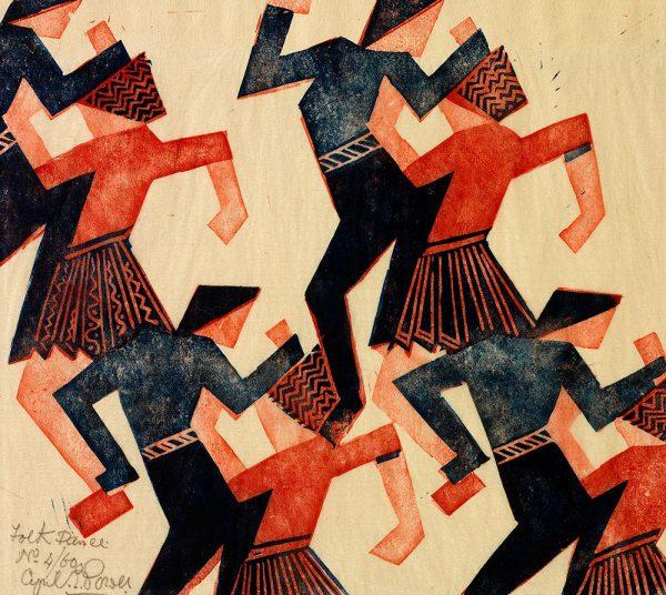 cyril powers folk dance
