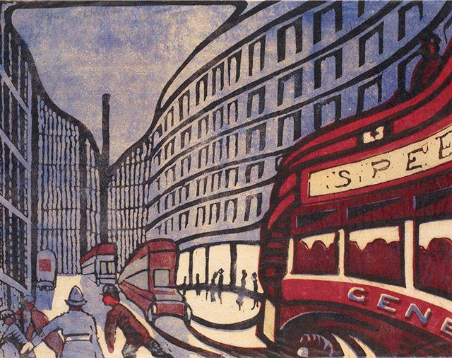 Speed by Claude Flight. 1922