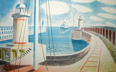 Ravilious Newhaven Harbour