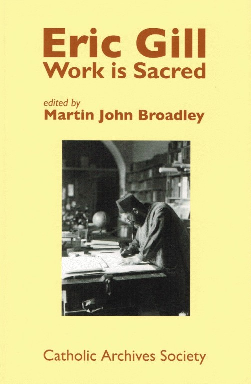 Eric Gill: Work is Sacred