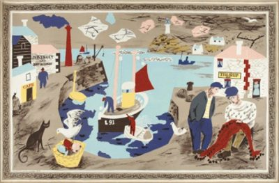 Harbour School Print by Julian Trevelyan