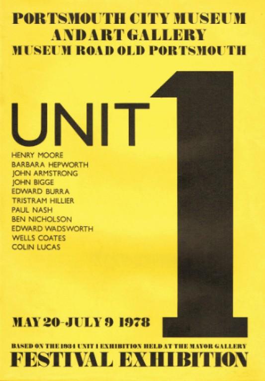 Unit 1: Portsmouth City Museum 1978