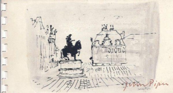 John Piper: Studies from Sketchbooks 1940-60