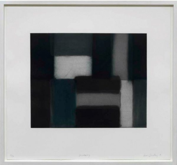 Shadowing Print by Sean Scully