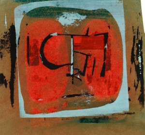 Underground Print by Peter Lanyon