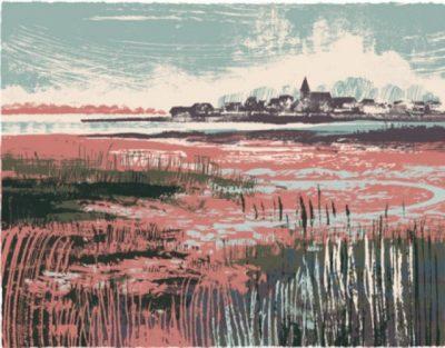 Bosham Mud Flats Print by Andy Lovell