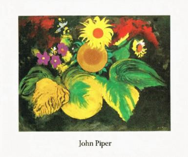 John Piper: Flower Paintings 1988 Waddington Galleries