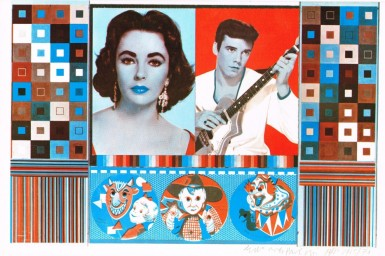 'An Empire of Silly Statistics … A Fake War for Public Relations' Print by Eduardo Paolozzi