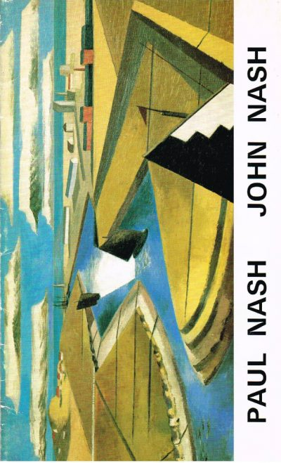 Paul Nash John Nash Oil Paintings and Watercolours