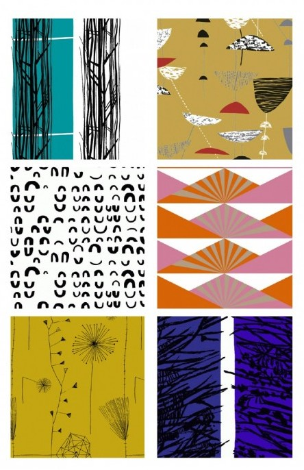 lucienne day fabric samples