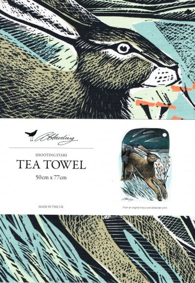 Angela Harding Shooting Stars Tea Towel