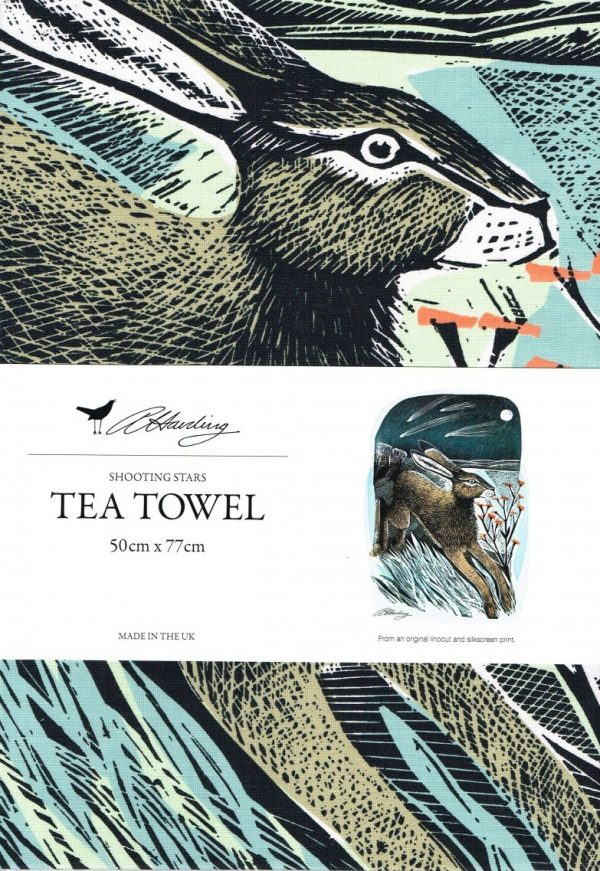 Angela Harding Shooting Stars Tea Towel