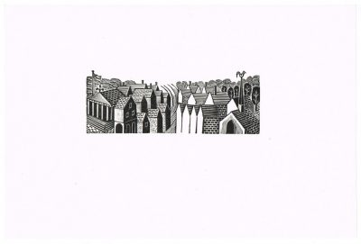eric ravilious rooftops engraving