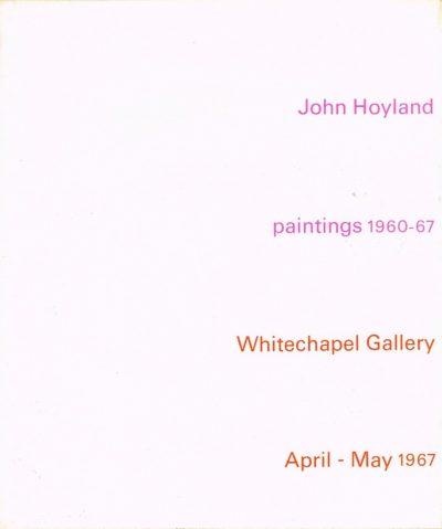 john hoyland signed 1967