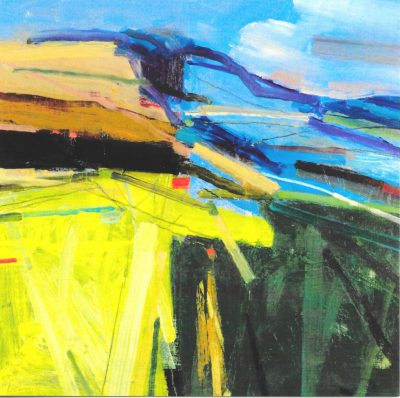 Peter Iden Summer on the Downs print