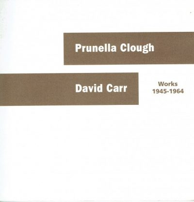Prunella Clough David Carr