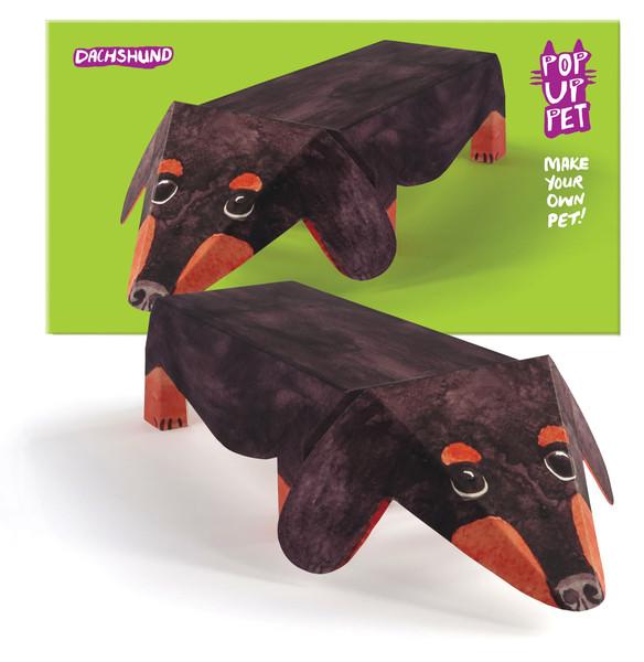 pop up pet dachshund