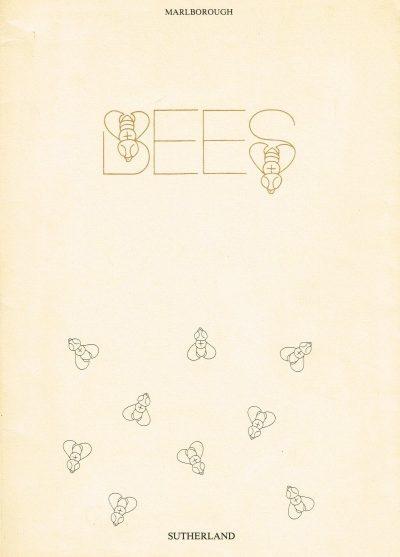 Graham Sutherland Bees Exhibition Catalogue