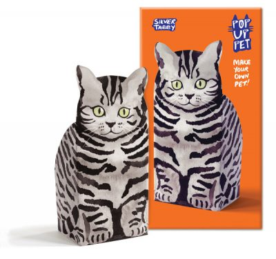 pop up pet silver tabby