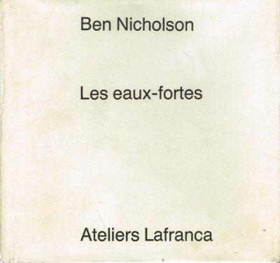 Ben nicholson Les eaux-fortes