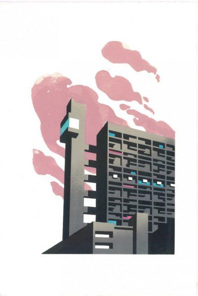 Paul Catherall Trellick Print