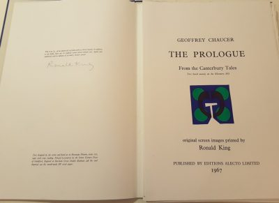 Chaucers Prologue by Ron King