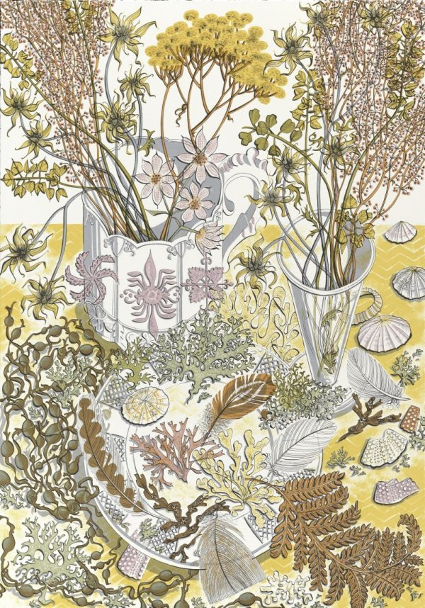 Angie Lewin, Nature's Study (2015)