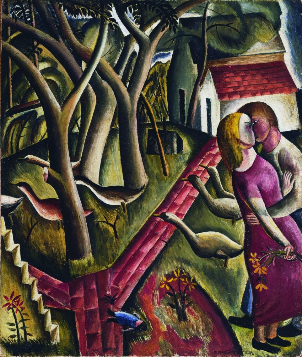 David Jones, The Garden Enclosed, 1924 © Trustees of David Jones - Tate, London 2015. (1)