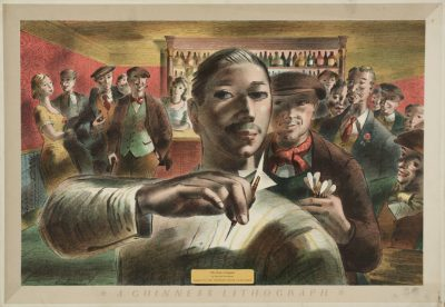 The Darts Champion 1956 by Barnett Freedman