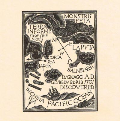 Map of Third Voyage by David Jones