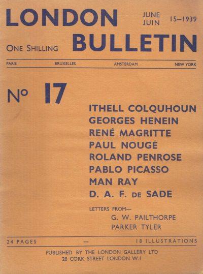 London Bulletin No. 17