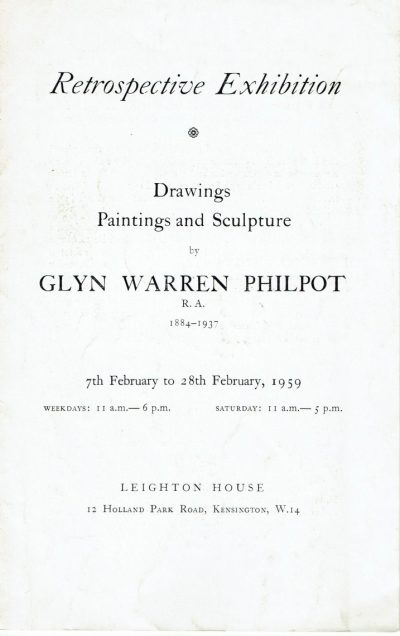 Glyn Warren Philpot