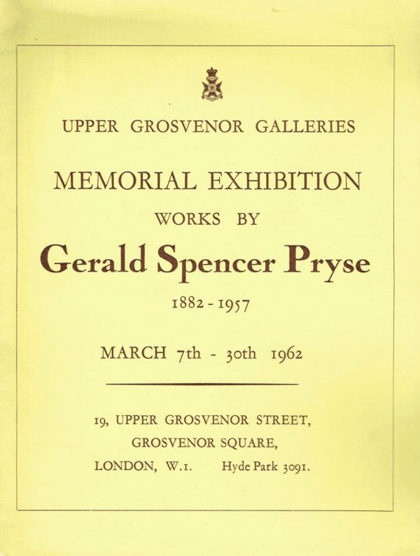 Gerald Spencer Pryse