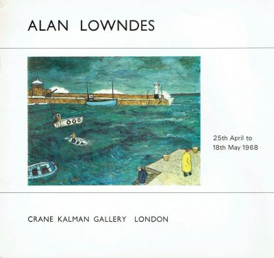 Recent Paintings By Alan Lowndes