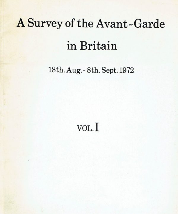 A Survey of the Avant-Garde in Britain