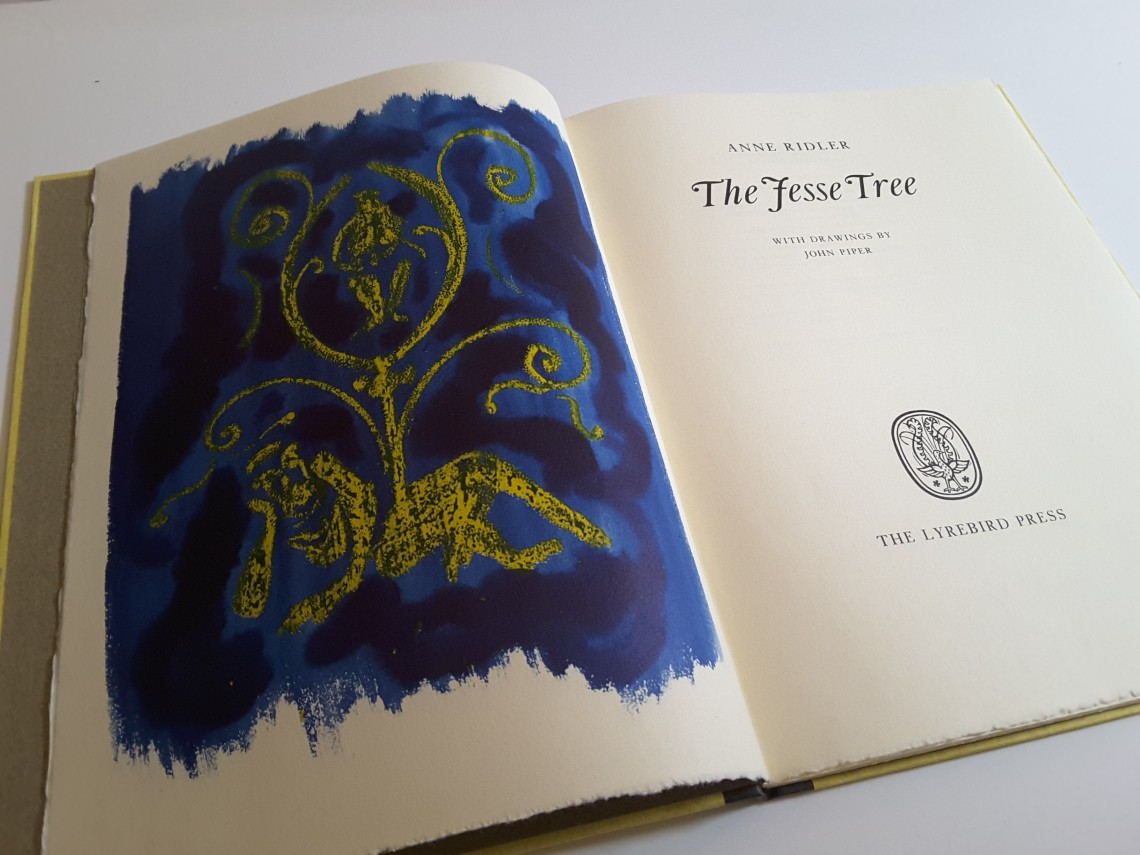The Jesse Tree frontispiece by John Piper