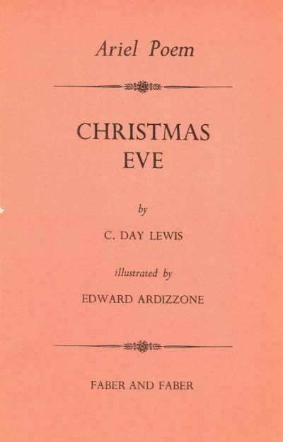 Ariel Poem: Christmas Eve