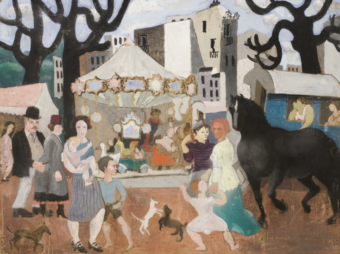 Christopher Wood, Fair at Neuilly, 1923, Towner