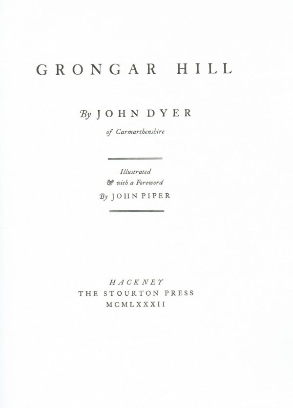 Grongar Hill