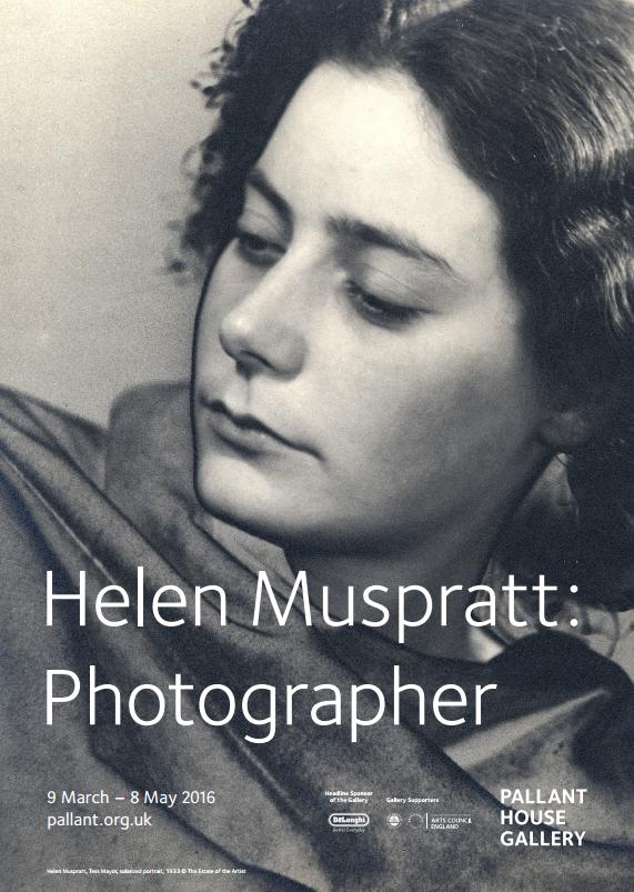 Helen Muspratt Exhibition Poster