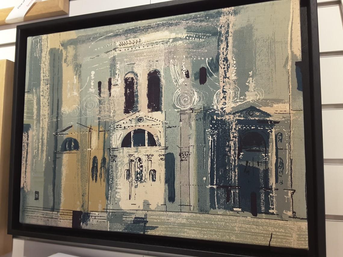 Chiesa Della Salute Fabric Panel by John Piper for Sanderson