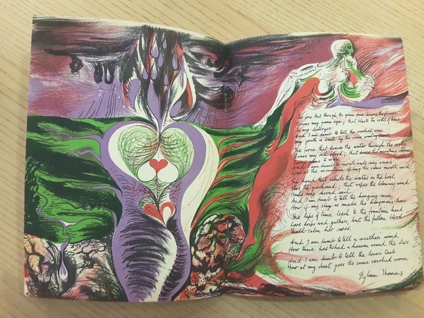Poetry London No. 11, Ceri Richards Lithograph