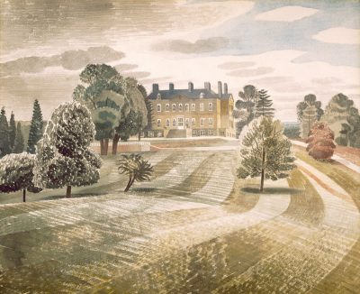 Buscot Park by Eric Ravilious