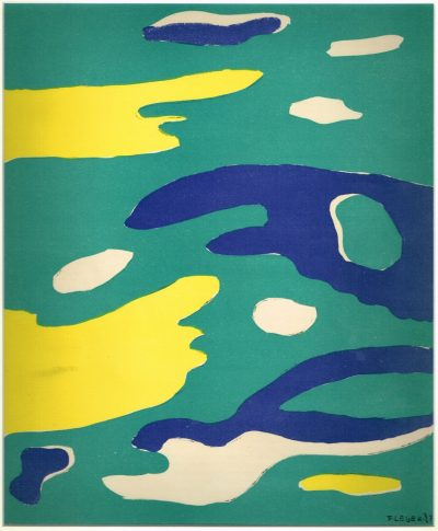 Water Print by Ferdnand Leger