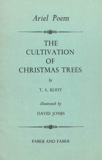 Cultivation of Christmas Trees