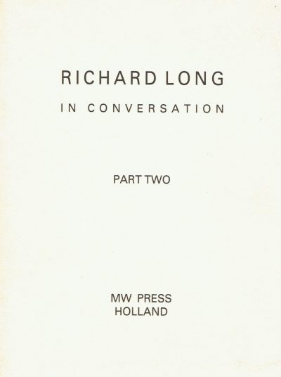 Richard Long in Conversation